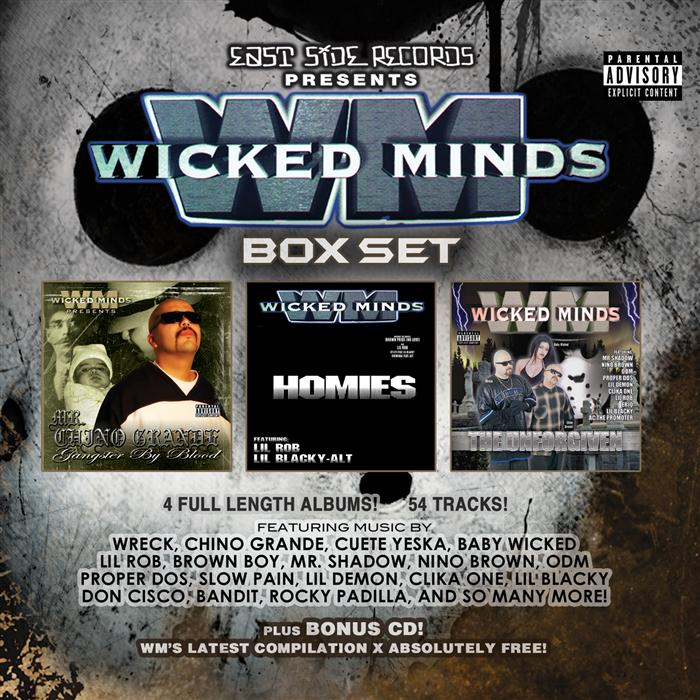 Listen Free to Wicked Minds - Brown Pride Feat LIL ROB Radio