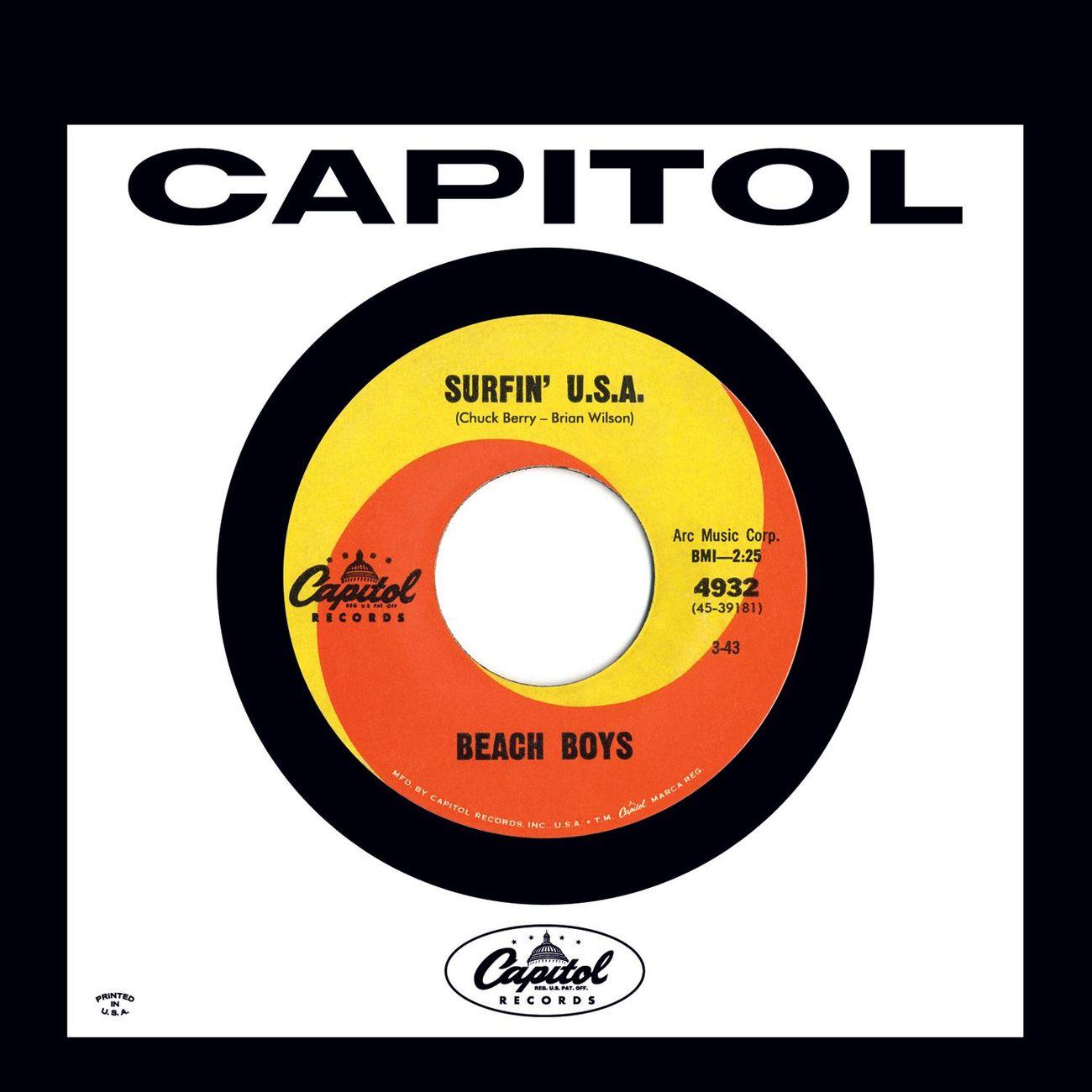 Listen Free To The Beach Boys Surfin U S A Stereo