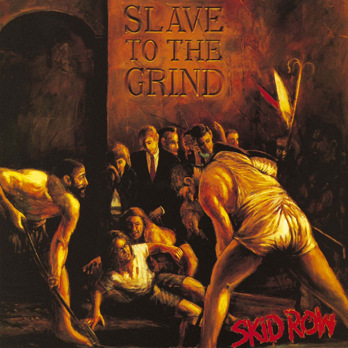 Skid Row Slave To The Grind Album