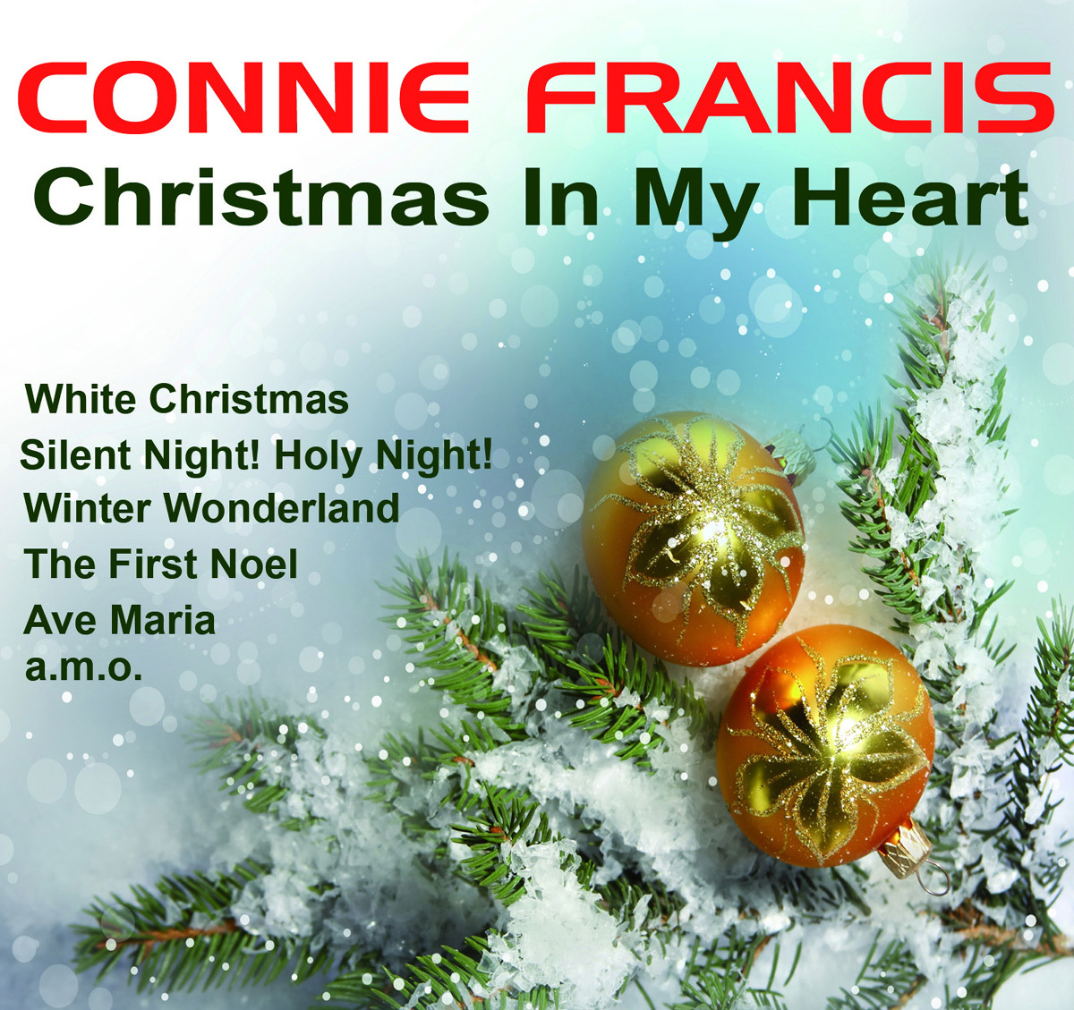 Connie Francis The Twelve Days Of Christmas.Connie Francis Radio Listen To Free Music Get The Latest Info