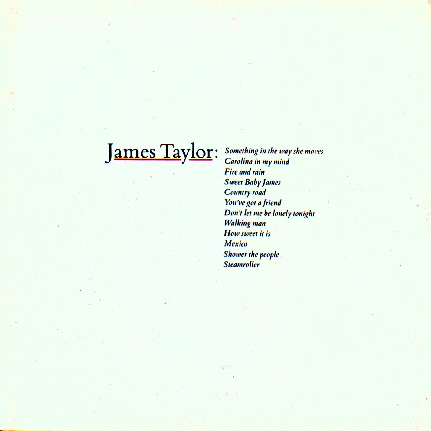 Listen Free to James Taylor - You've Got a Friend Radio | iHeartRadio