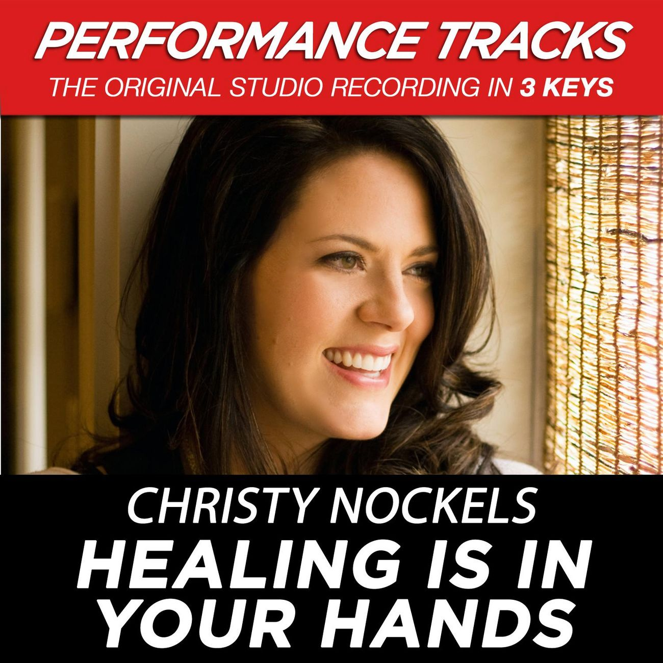 Healing Is In Your Hands (Medium Key Performance Track Without Background Vocals)