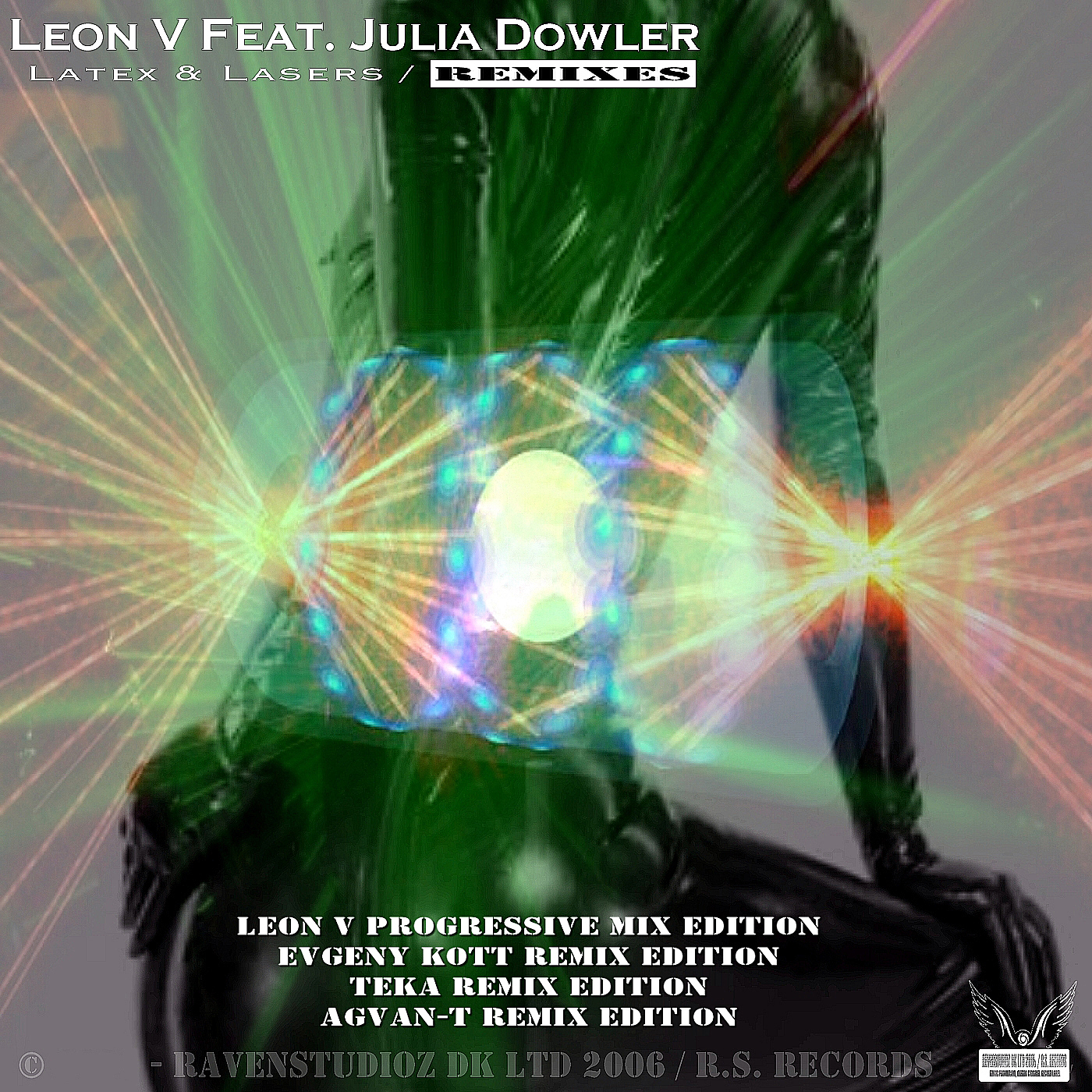 Latex & Lasers (feat. Julia Dowler) (Agvan-T Remix Edition)