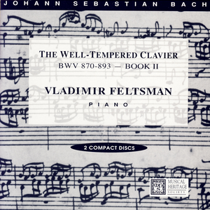 The Well-Tempered Clavier, Book 2, Fuga X