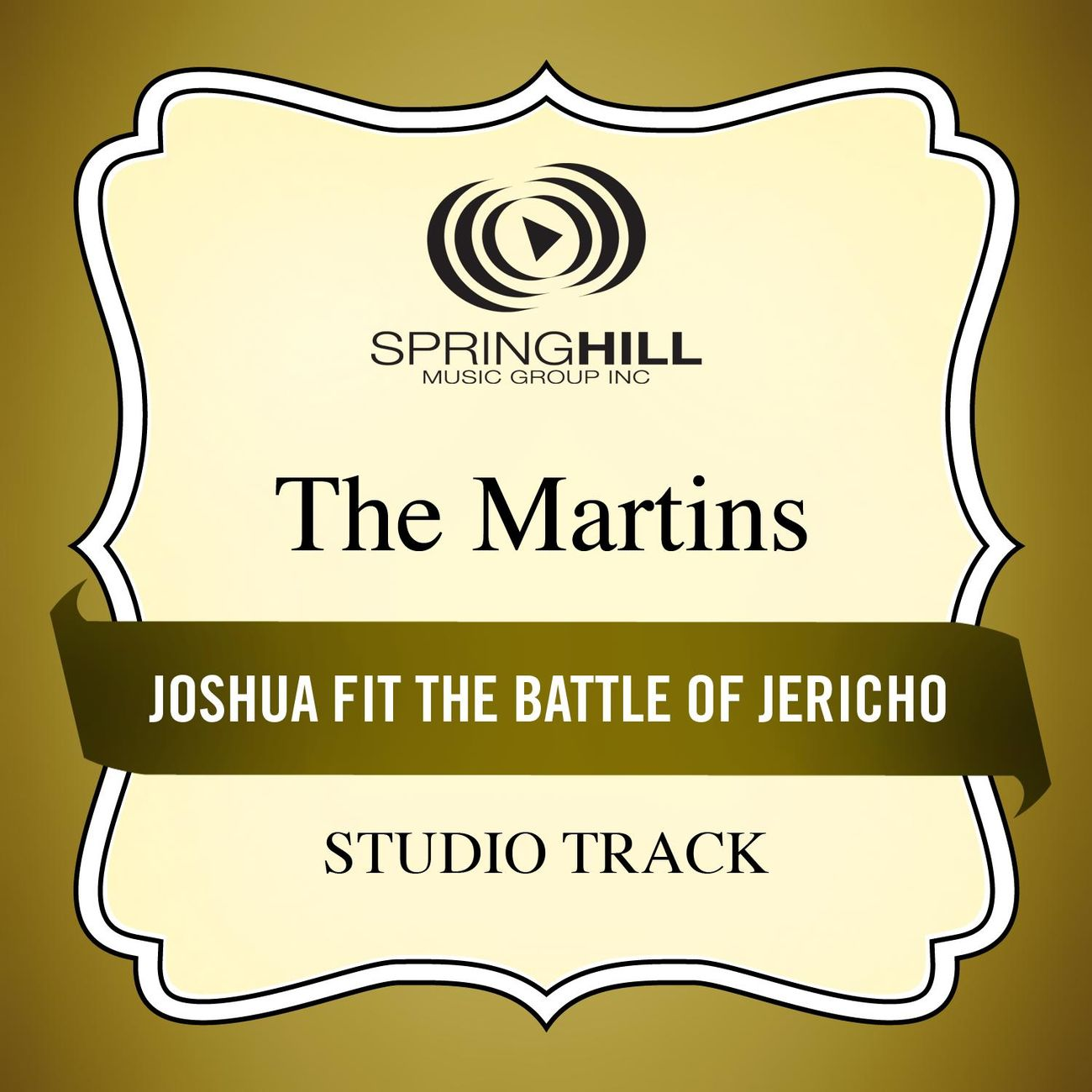 Joshua Fit The Battle Of Jericho (High Key Performance Track Without Background Vocals)