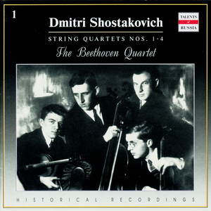 D.Shostakovich. String Quartet No.2 in A major, Op 68. I - Overture: Moderato con moto