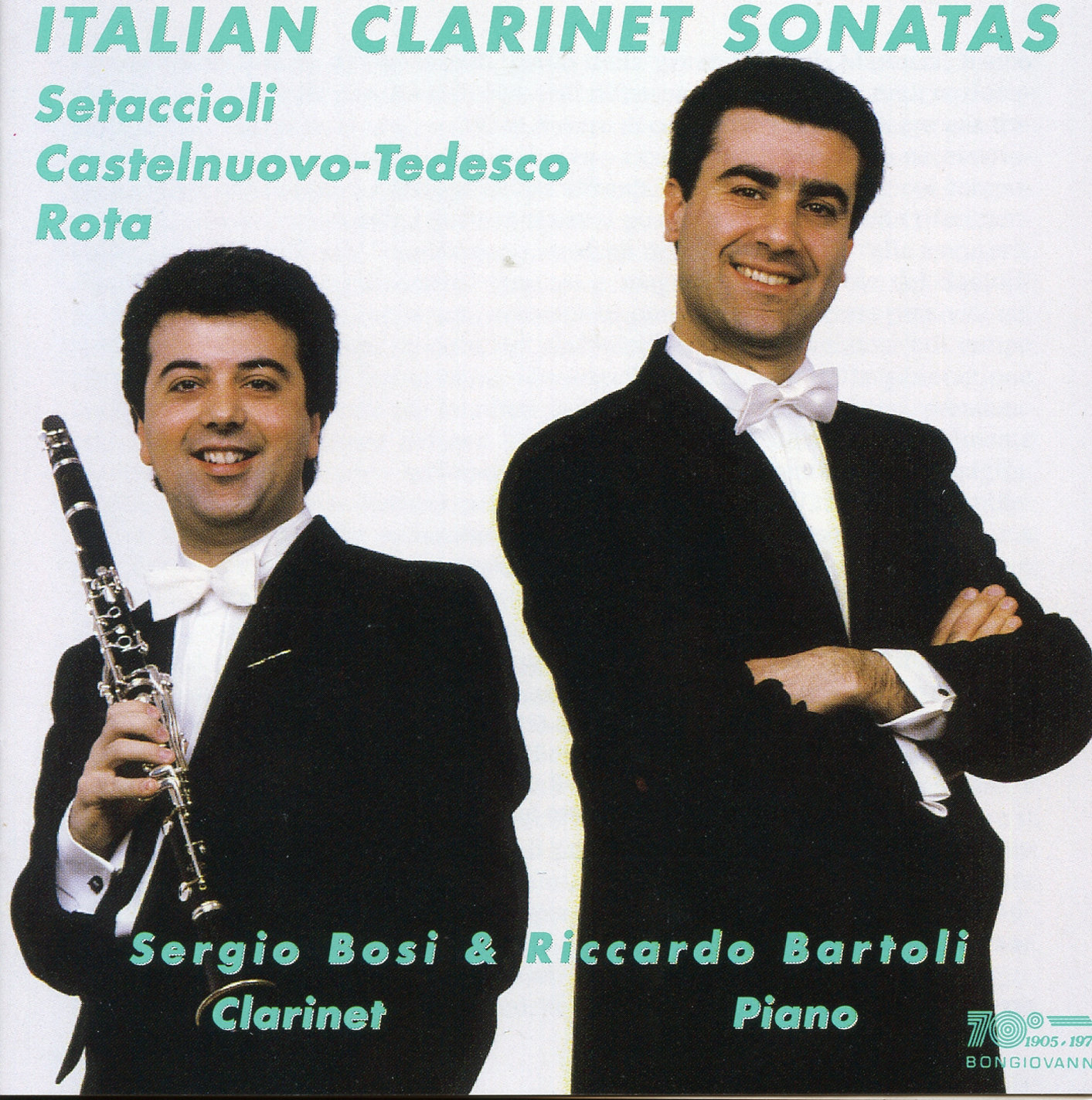 Clarinet Sonata in E-Flat Major, Op. 31, Clarinet Sonata in E-Flat Major, Op. 31: I. Meriggio. Allegro appassionato