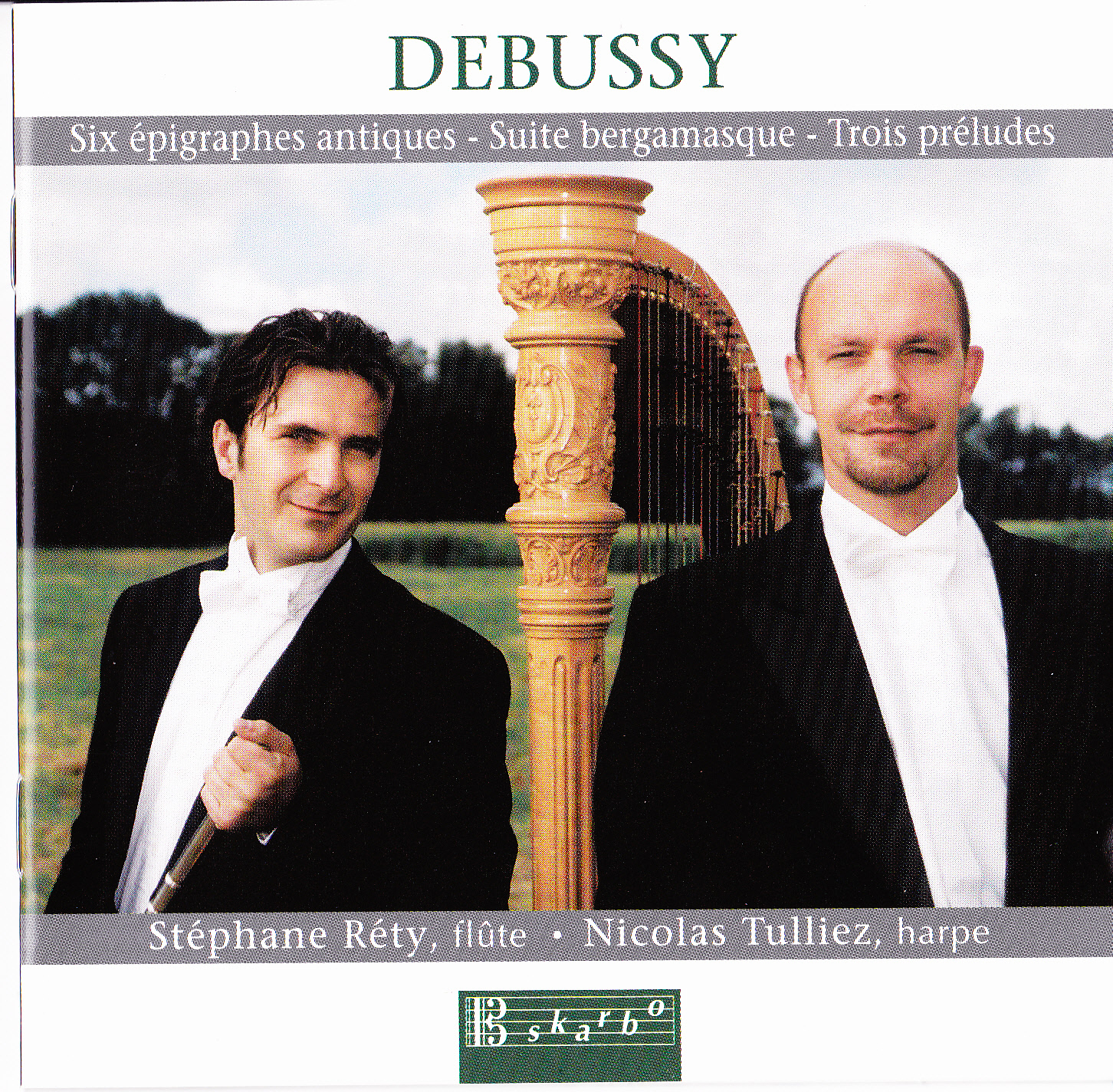Suite bergamasque, L. 75, Suite bergamasque, L. 75: II. Menuet (arr. S. Rety and N. Tulliez for flute and harp)