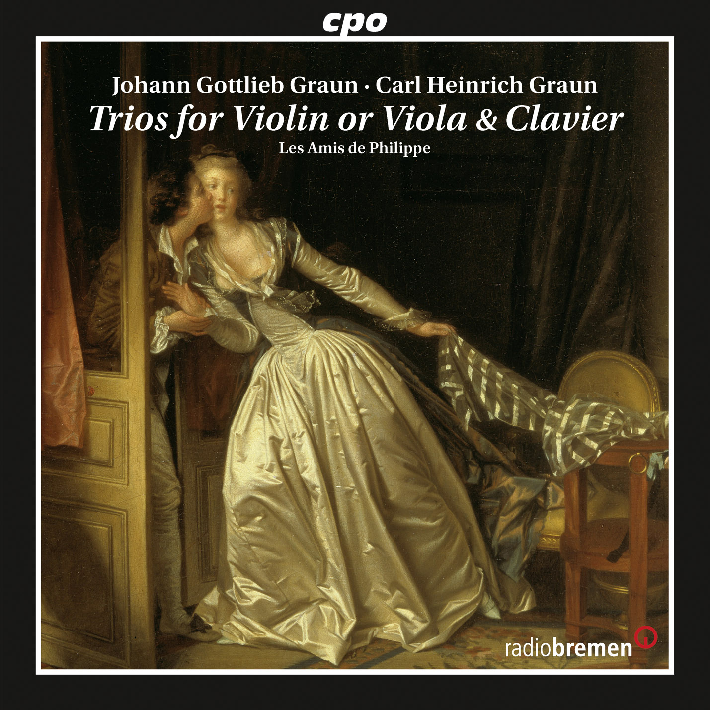 Trio in B-Flat Major, GraunWV A:XV:16, Trio in B-Flat Major, GraunWV A:XV:16: I. Adagio